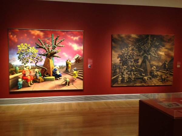Live Comments Curator Robert Cozzolino Peter Blume Pafa