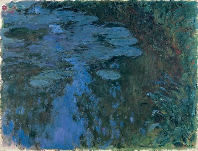 Artblog  Late Monet at Gagosian Gallery and Painting