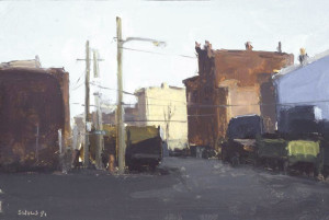 Stuart Shils Urban Oil early 1990s