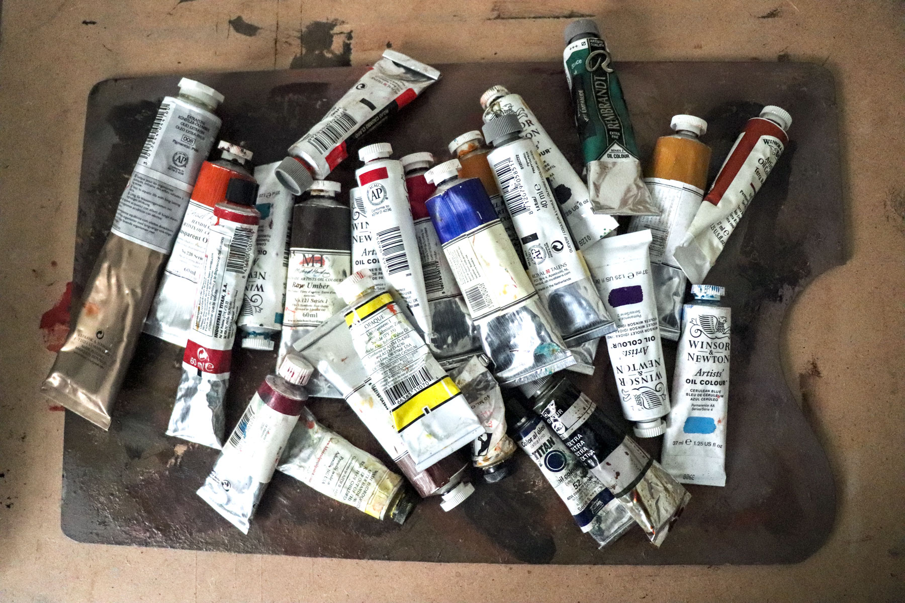 Oil Color Palette Tips For A Personal Choice The Art Digger