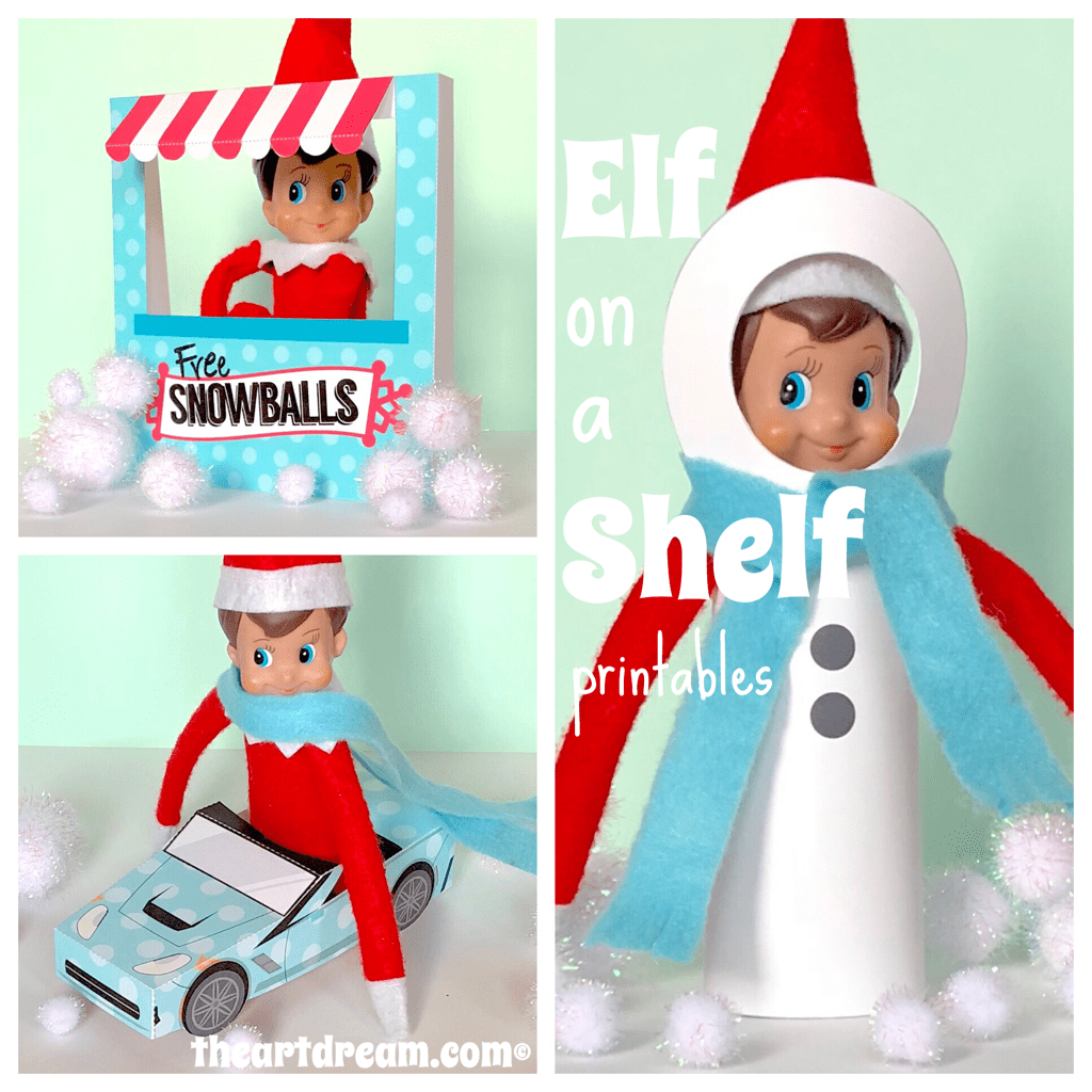 Elf On A Shelf Printables