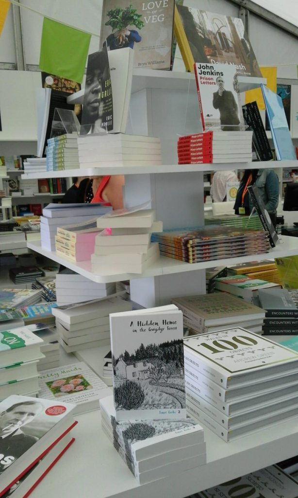 Artel Press at the Welsh Books Council in the Conwy County Eisteddfod 2019