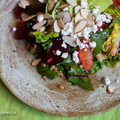 Avocado Beet Orange Salad Recipe