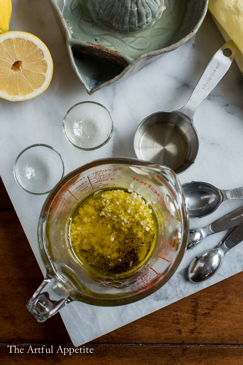 Lemon Garlic Vinaigrette
