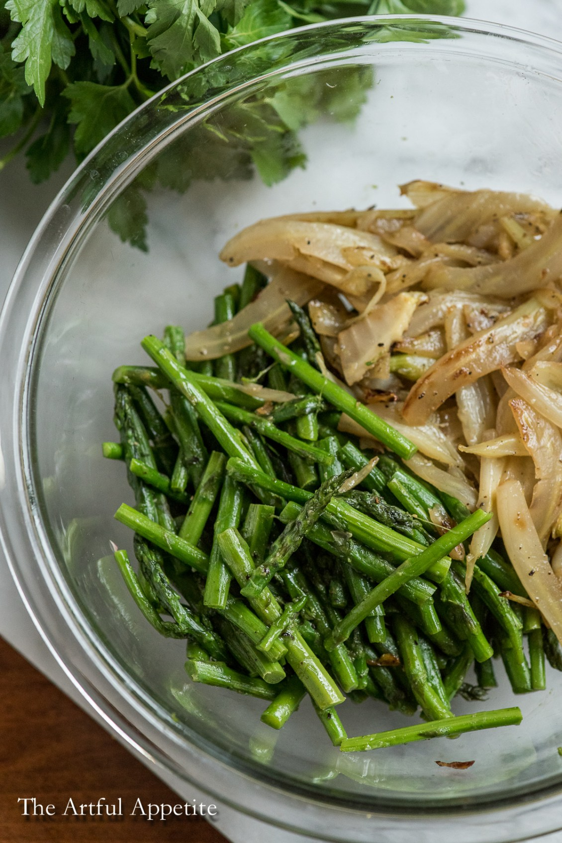 Asparagus Fennel Buckwheat Risotto vegan and gluten-free