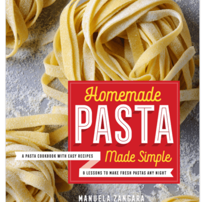 Homemade Pasta Made Simple by Manuela Zangara | Cookbook Review