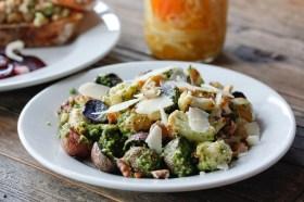 Veggie Pesto Salad
