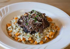 Short Rib Risotto