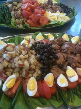 Salad Niçoise for a Spring Day