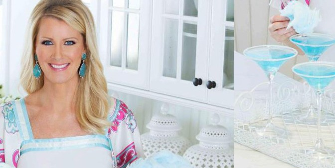 New shot from a Photo Shoot for Sandra Lee Magazine!