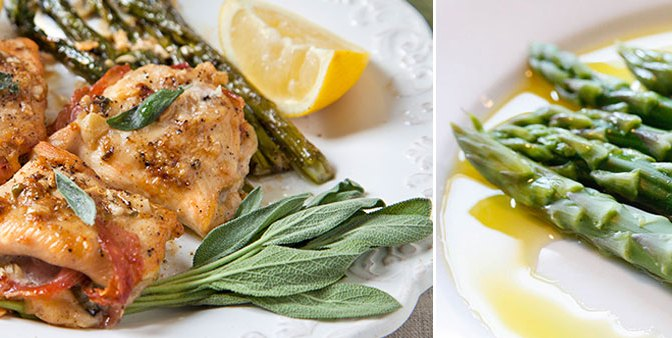 A bright, savory Spring chicken dish to celebrate the season