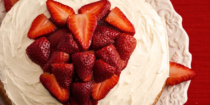 A LOVE-LY Strawberry Chambord Valentine's Day Cake