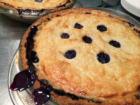 Maine Wild Blueberry Pie