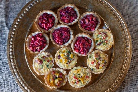 Sweet & Savory Mini Tarts