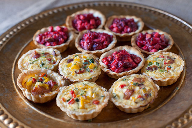 Mini Sweet & Savory Tarts
