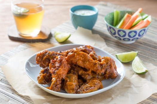 Sriracha Mango Wings