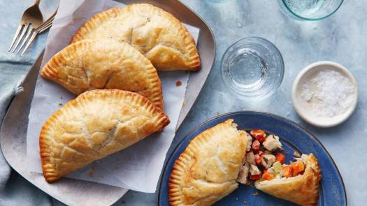 Chicken Pot Pie Handpies