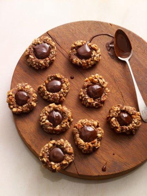 Choc Thumbprint Cookies