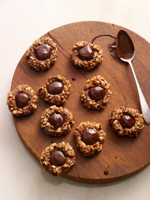 Choc Thumbprint Cookies