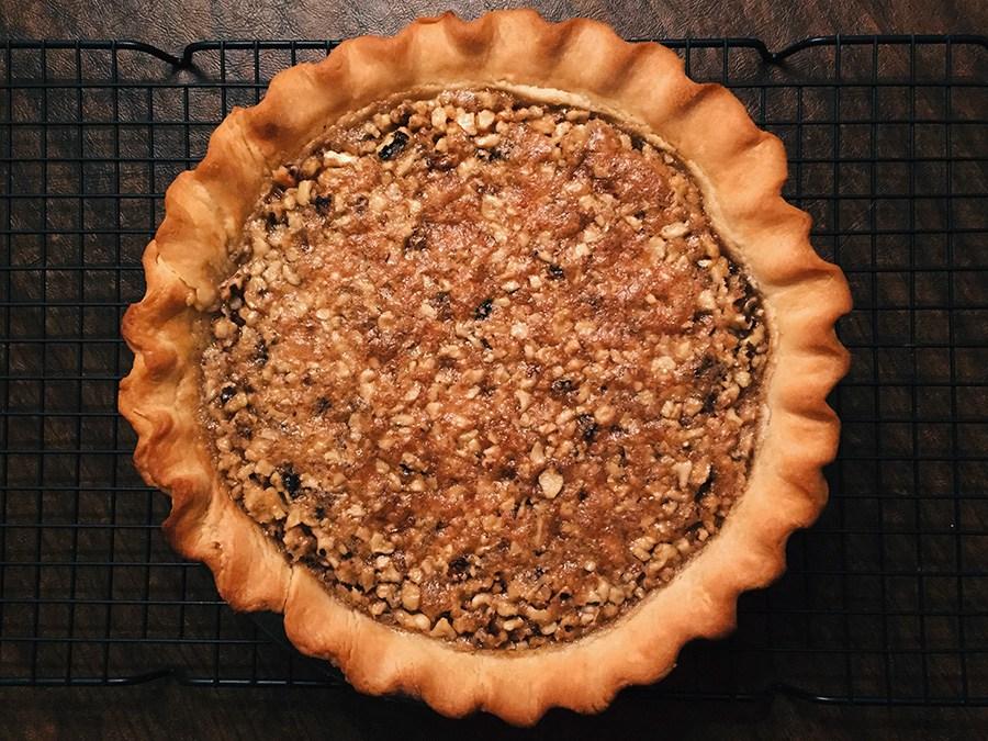 Maple Walnut Pie