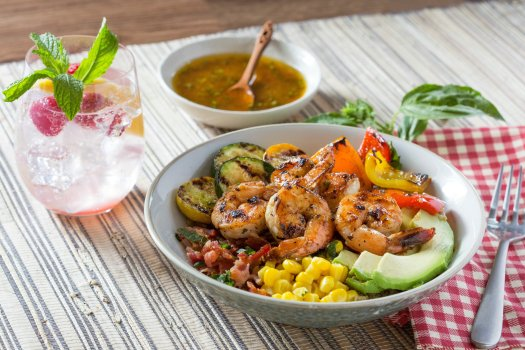 Shrimp Summer Bowl