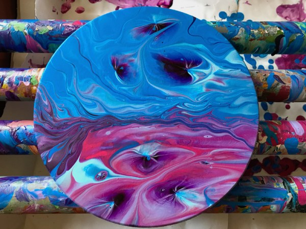 workshop acryl gieten cirkel 2