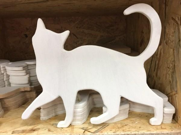 Kat hout hobby materialen 2
