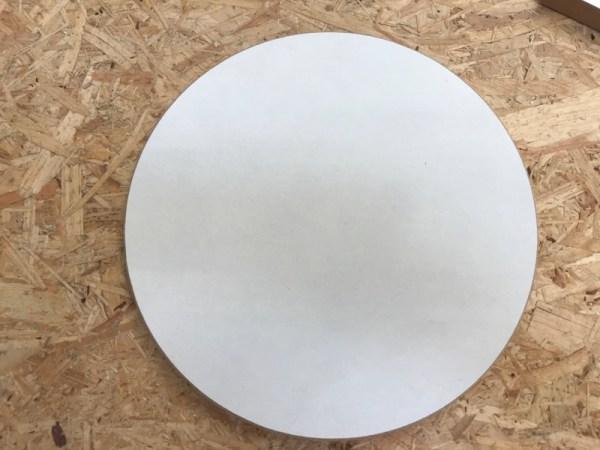 Materialen acryl gieten cirkel 2