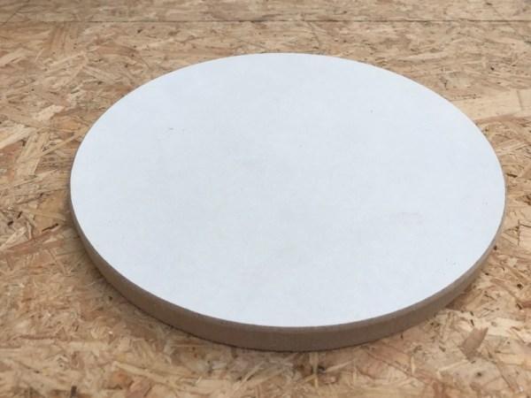 Materialen acryl gieten cirkel voor