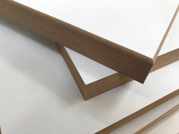 Vierkant hout diverse afrondingen