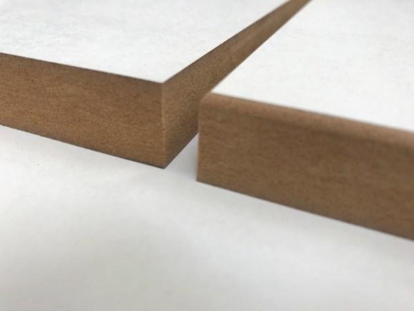 Vierkant hout verschil afronding