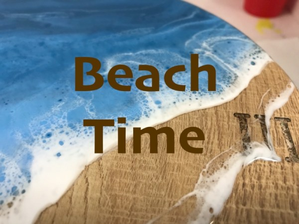 Epoxy beach tumb