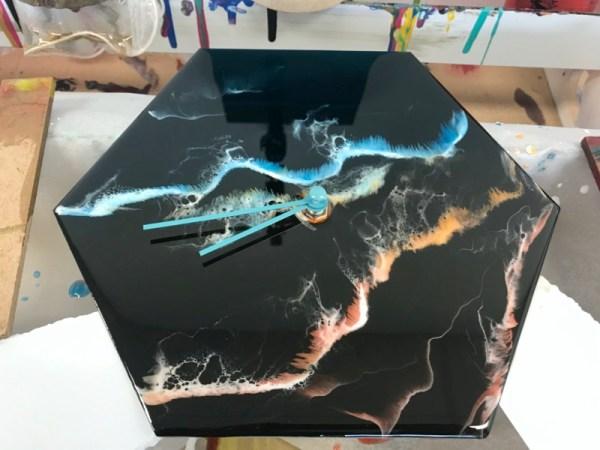Workshop epoxy gieten resin