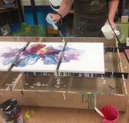 acryl gieten workshop 3 luik