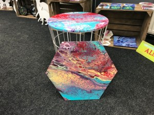 Tafel acryl gieten workshop