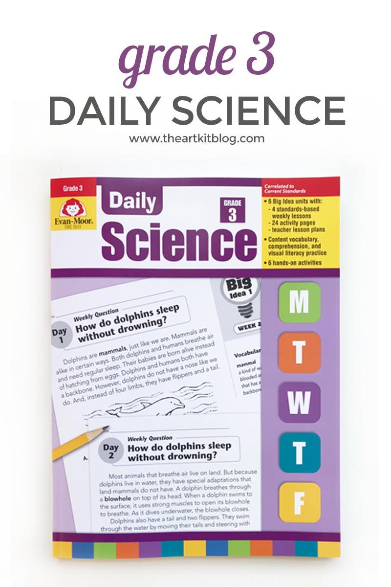 medium resolution of Review: Evan-Moor Daily Science Grade 3 - The Art Kit