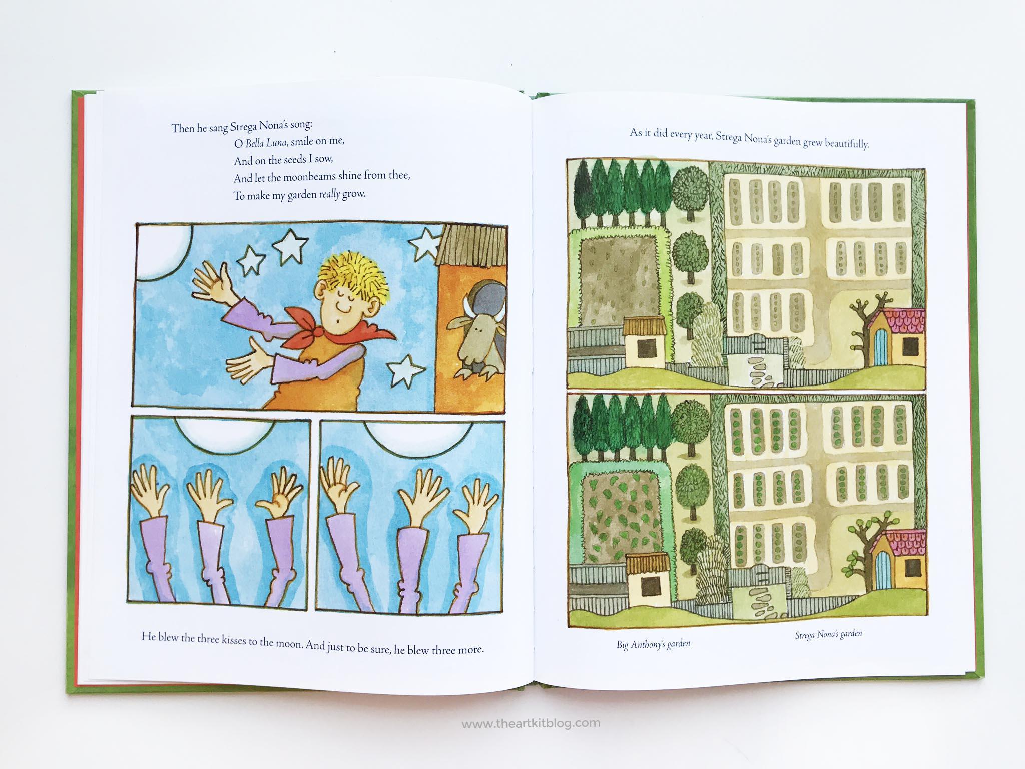 Strega Nona Fall Harvest Book Review