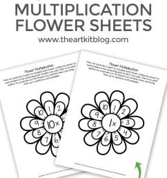 Waldorf Flower Multiplication Worksheets for Kids - Printable Pack - The  Art Kit [ 1200 x 800 Pixel ]