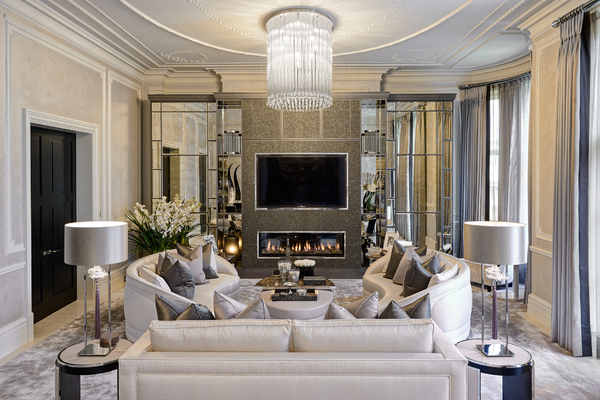 living room interior decorating ideas decor with black leather couches design for luxury rooms and reception 141 projects