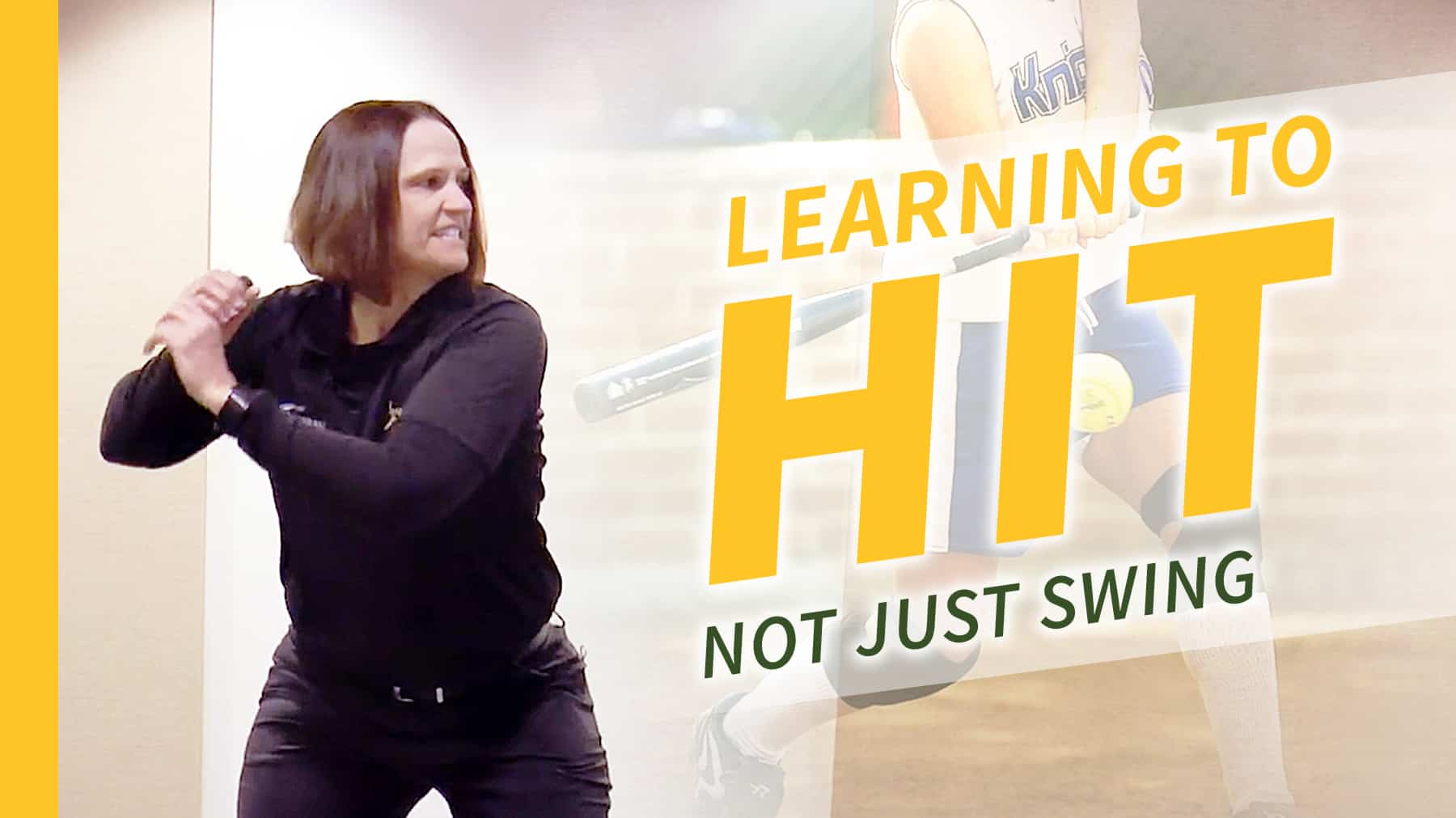 Hitting Learning To Hit Not Just Swing