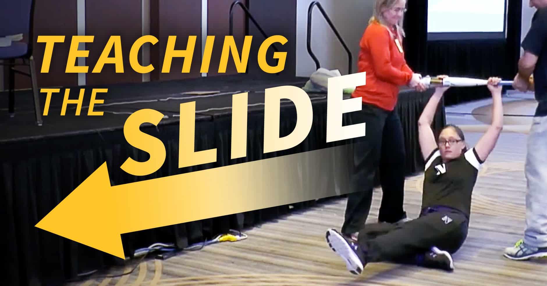 Baserunning How To Break Down Sliding Technique