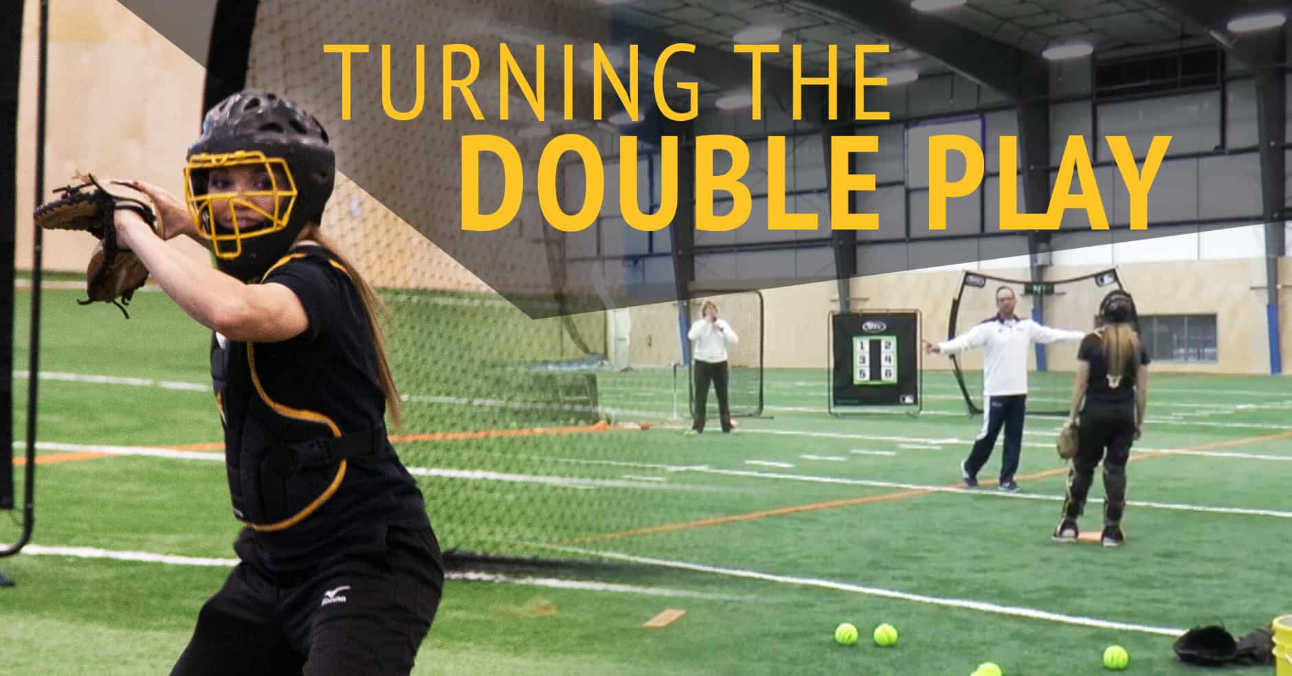 Catching Turning The Double Play