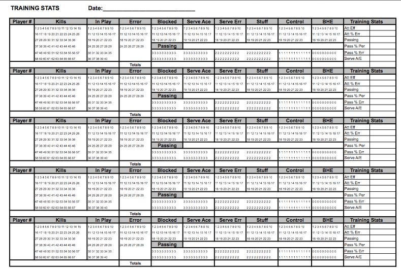 volleyball stats sheet