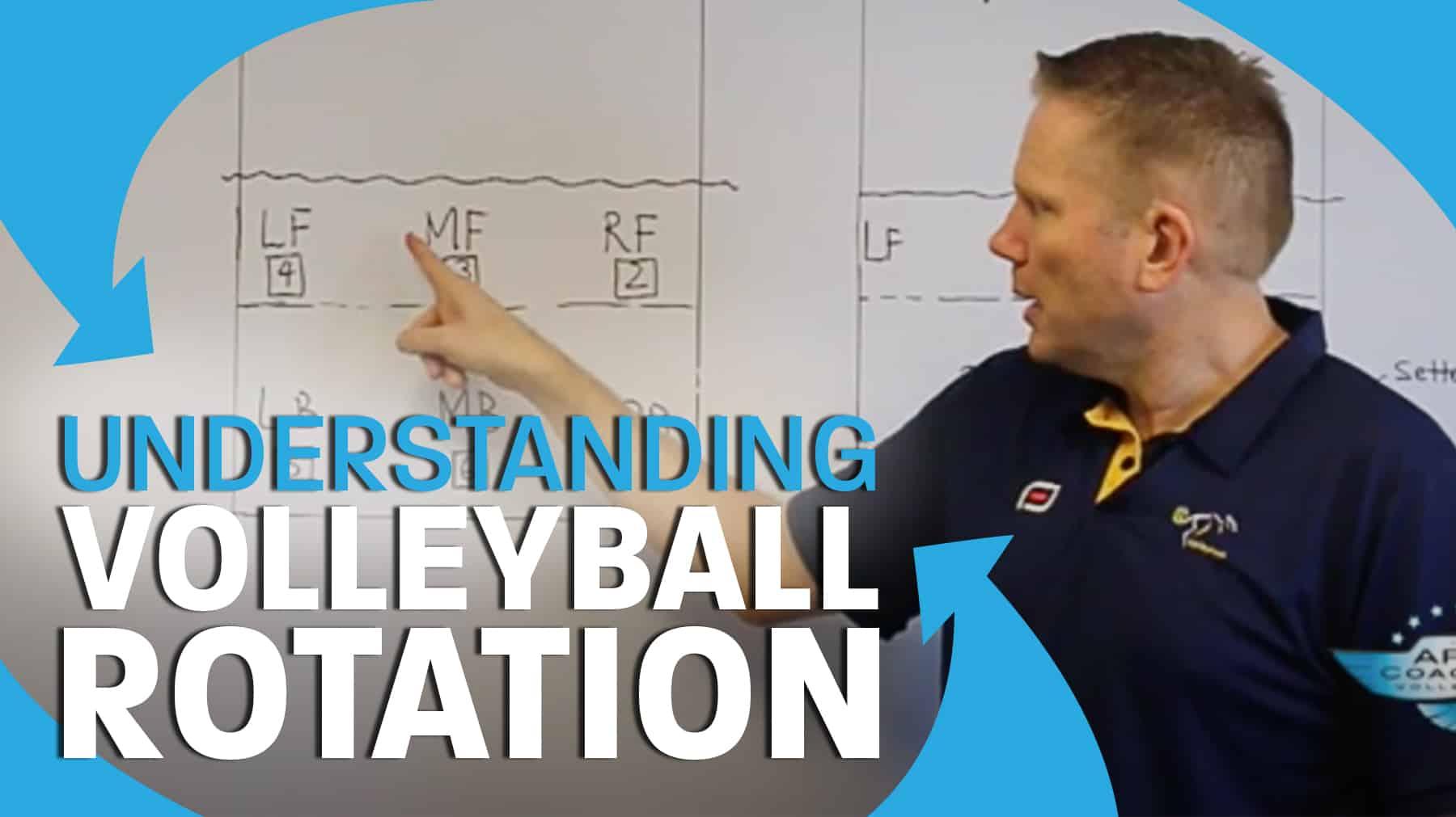 Volleyball Rotation The Basics