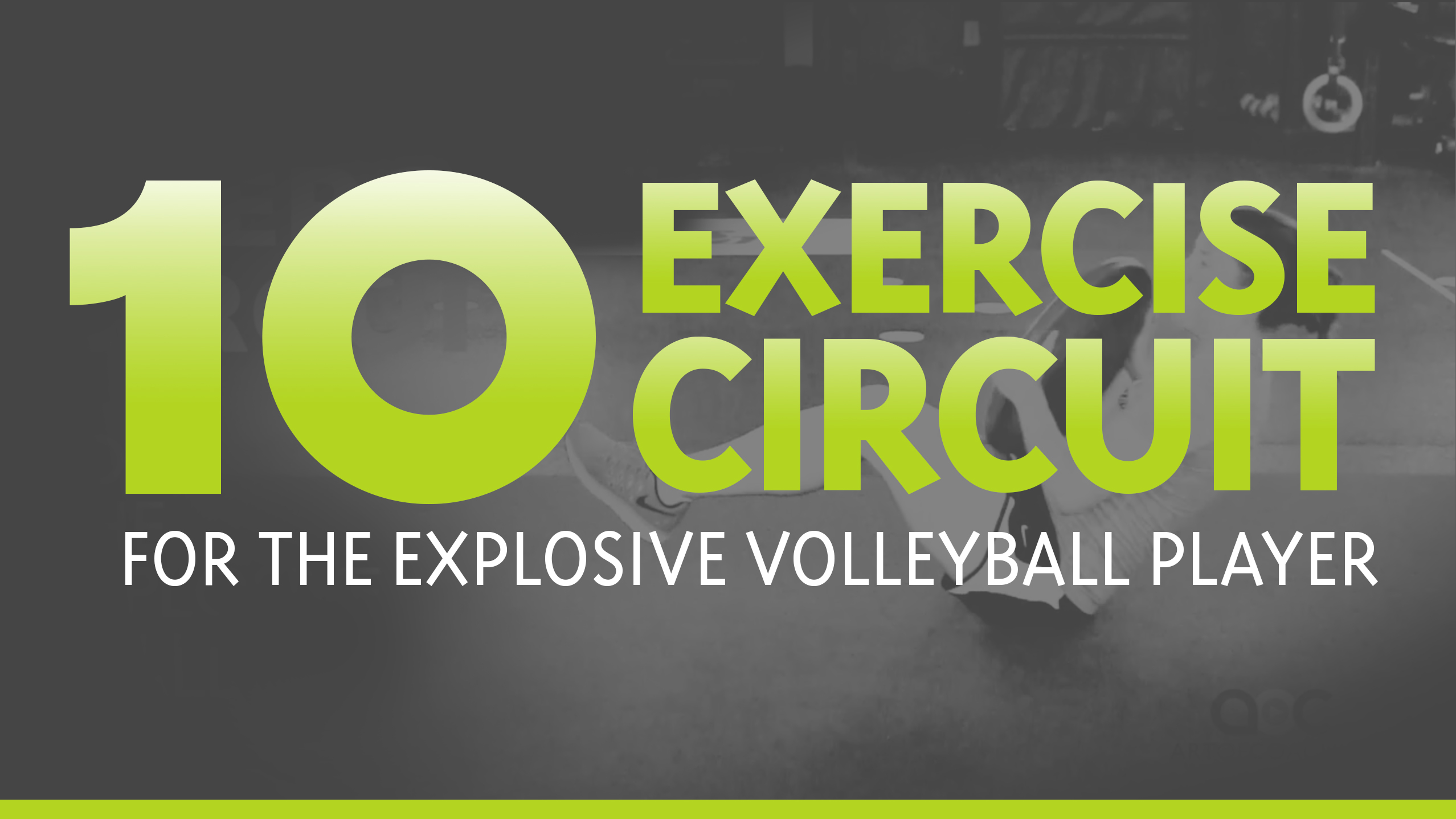 10 Volleyball Specific Strength Exercises
