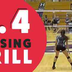 Volleyball 4 2 Offense Diagram Venn Formula For Sets Passing Drill With Kevin Hambly The Art Of Coaching