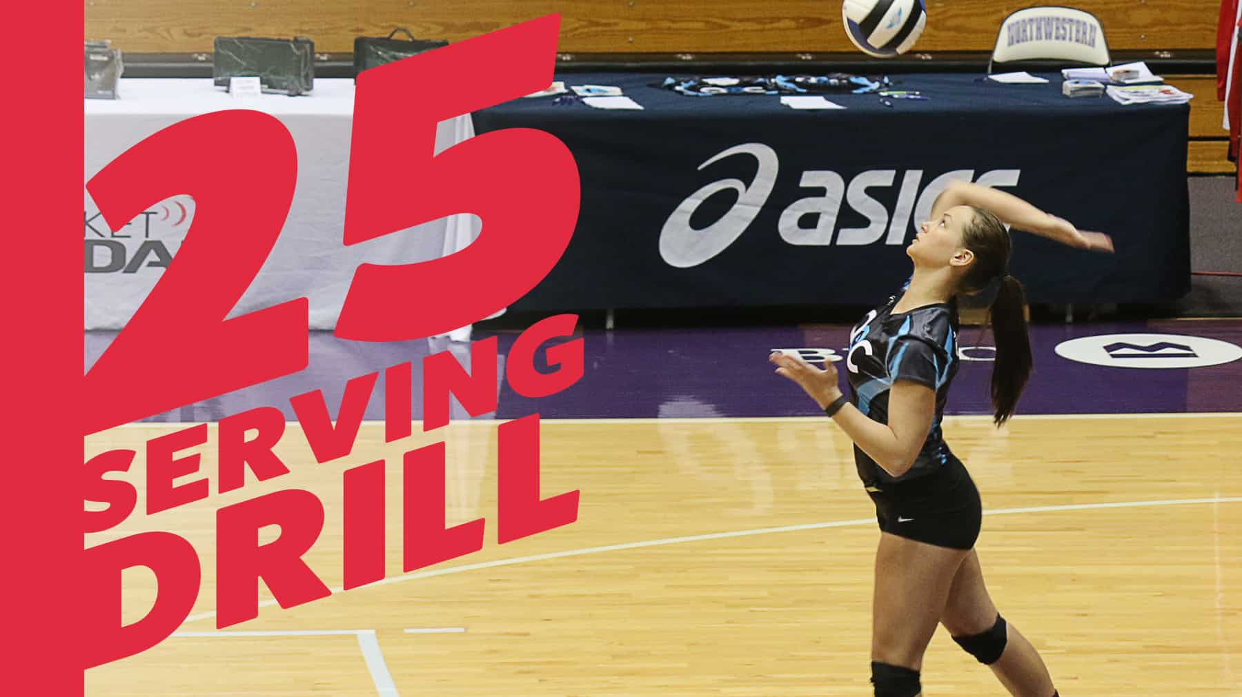 25 Serving Drill For Precision Practice