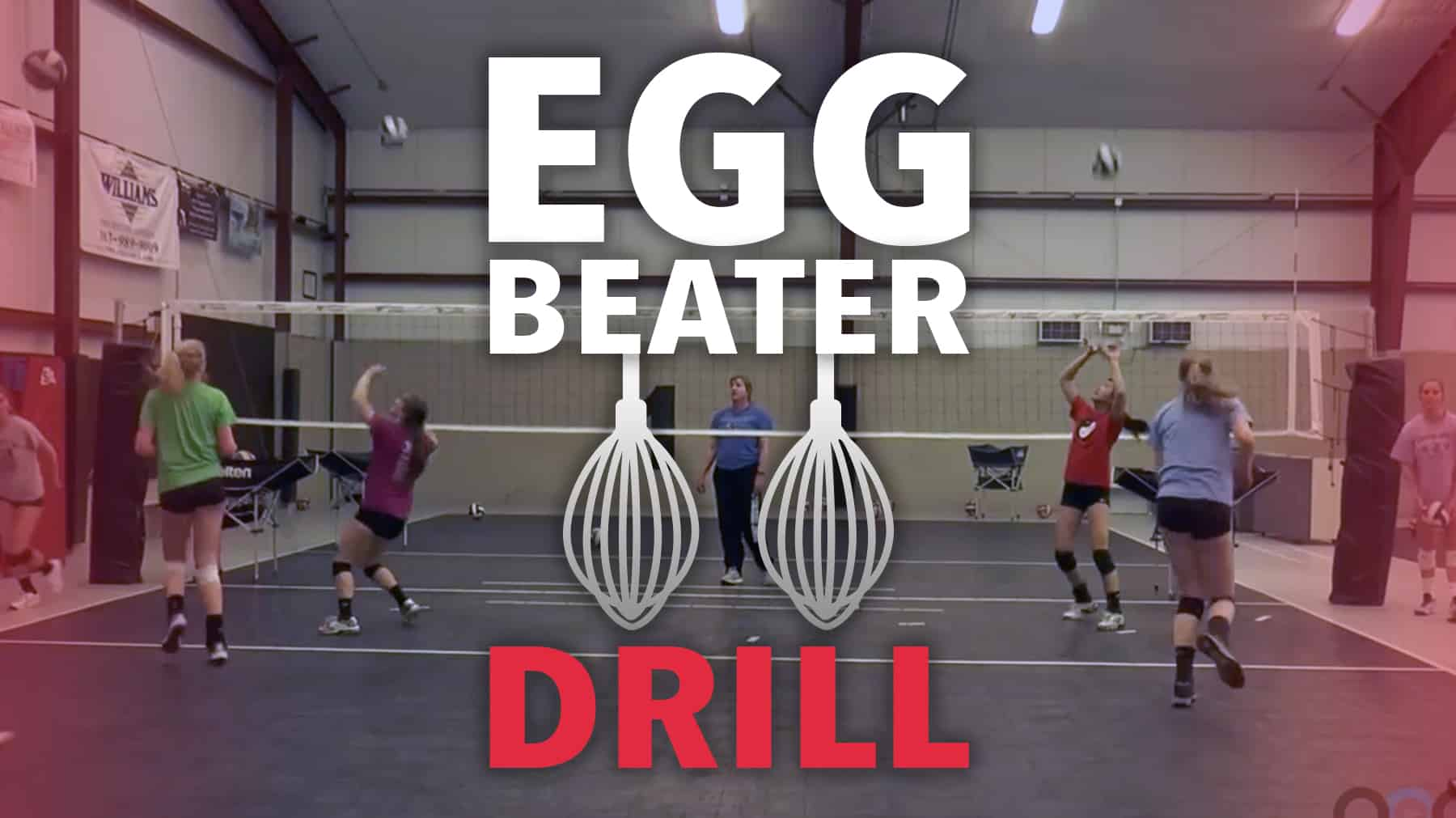 Egg Beater Drill Improves Passing And Conditioning