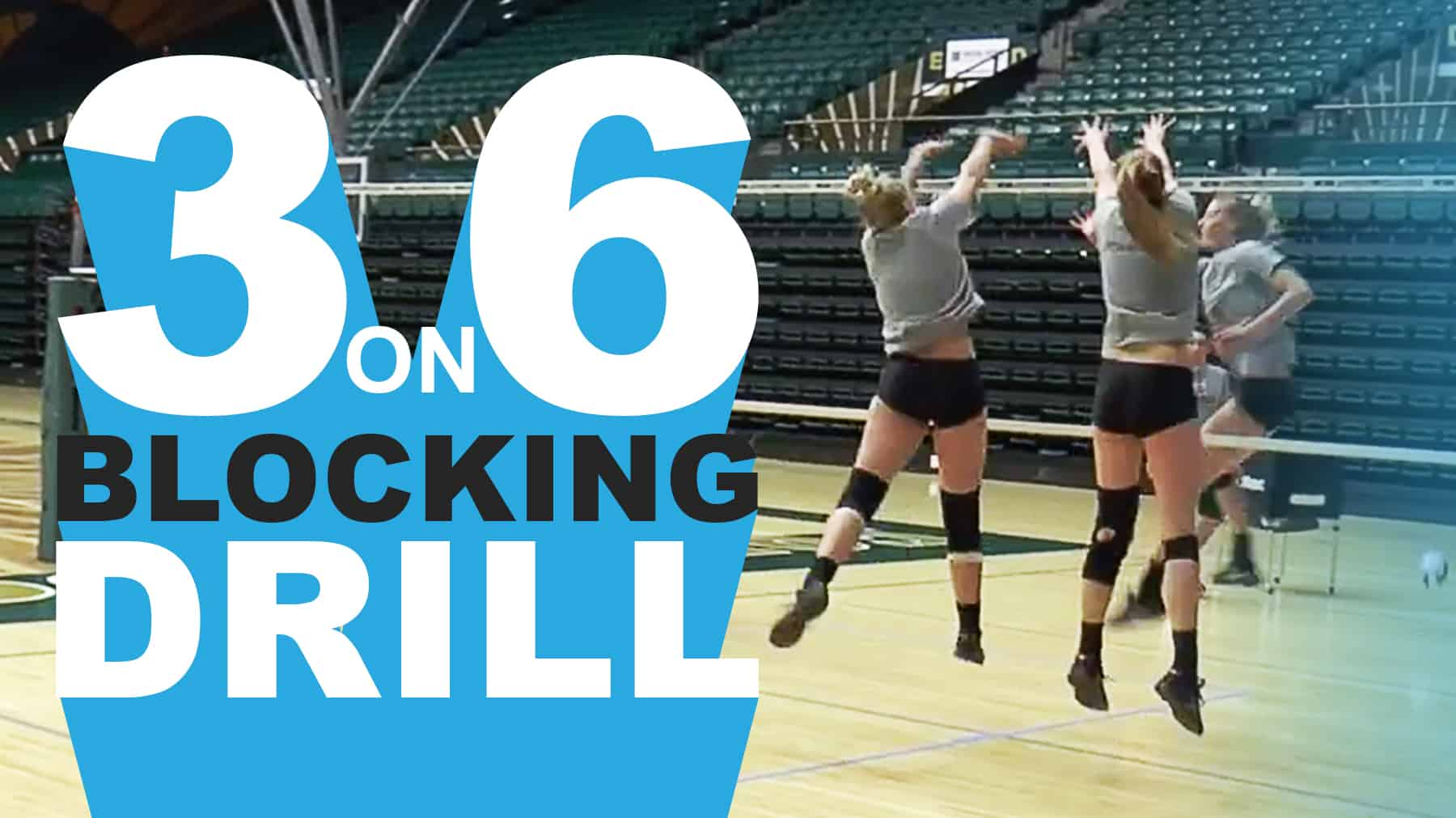 Bolster Defense With 3 On 6 Blocking Drill