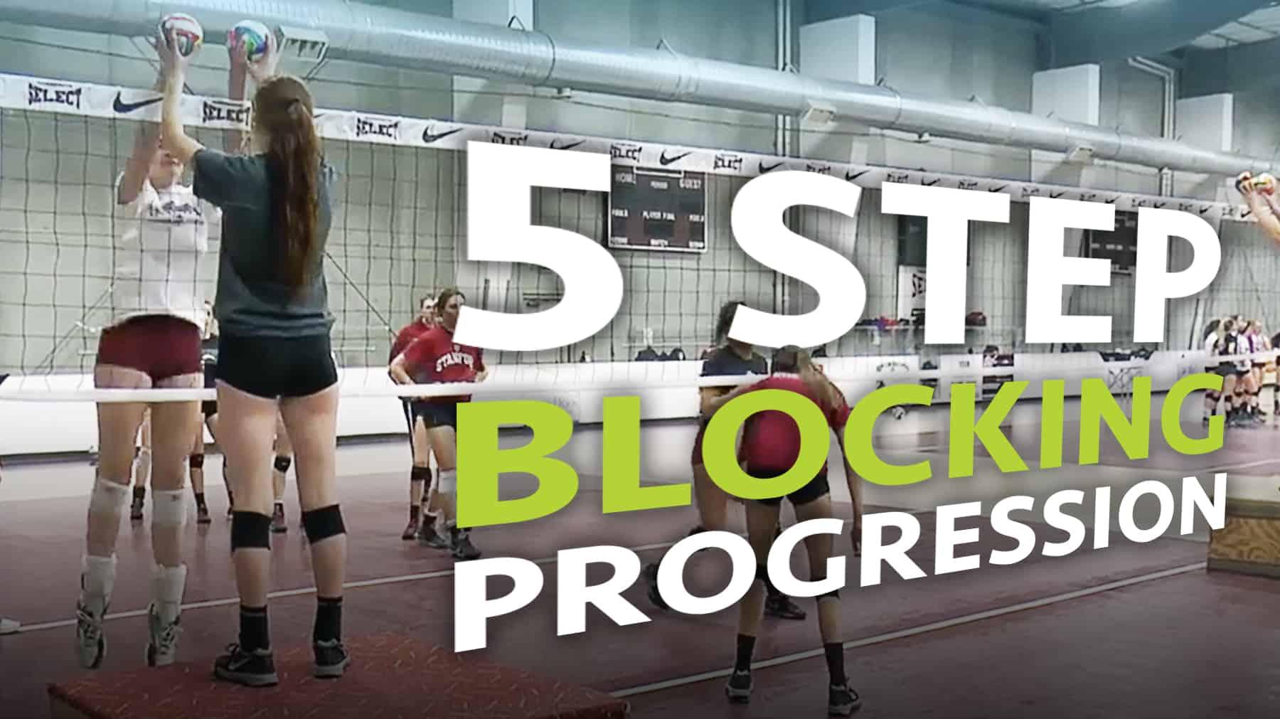 Joy Tietz Five Step Blocking Progression